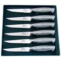 Hen & Rooster 6-piece Stainless Steel Steak Knife Set