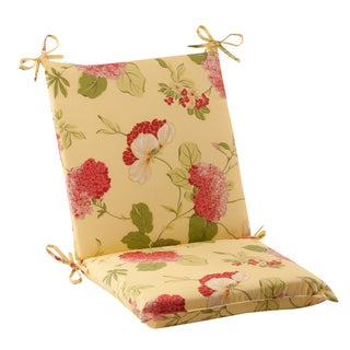 Pillow Perfect Lemonade Outdoor Chair Cushion