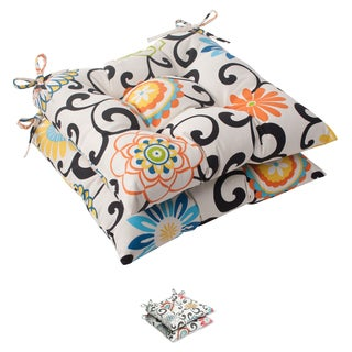 Pom Pom Play Tufted Seat Cushions (Set of 2)