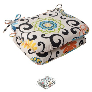 Pom Pom Play Rounded Seat Cushions (Set of 2)
