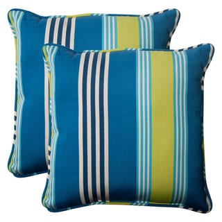'Oncore' Lagoon 18.5-inch Throw Pillows (Set of 2)