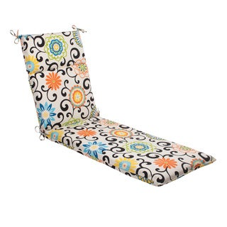 Waverly Sun-n-Shade Pom Pom Lagoon Chaise Lounge Cushion