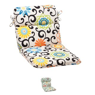 Pom Pom Play Rounded Chair Cushion