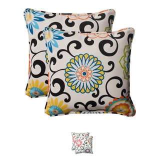 Pom Pom Play &#39;Lagoon&#39; Corded 18.5-inch Throw Pillows (Set of 2)