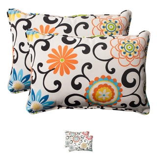 Pom Pom Play Corded Rectangular Throw Pillows (Set of 2)