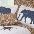 Jungle Story Quilted Sham (Set of 2)