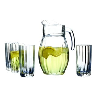 Crystal Clear Boca 5-piece Beverage Set (HIB+PIT)