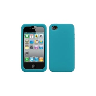 MYBAT Solid Tropical Teal Skin Case for Apple iPhone 4/ 4S