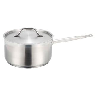 Winco Premium Stainless Steel 6-quart Saucepan