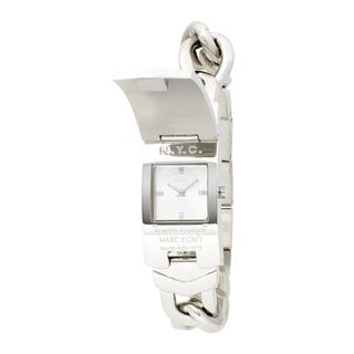 Marc Ecko Men's 'Better Off Dead' Silver Dial Watch