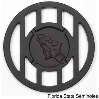 NCAA Team Logo Cast Iron Hamburger Grill Topper