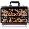 Shany Cosmetics Leopard Texture Premium Collection Makeup Train Case