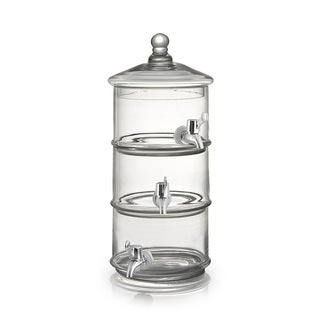 Fifth Avenue Crystal Royal Glass Beverage Dispenser