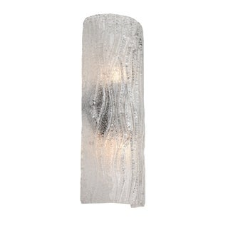 Alternating Current Brillance 2-light Chrome Wall Sconce