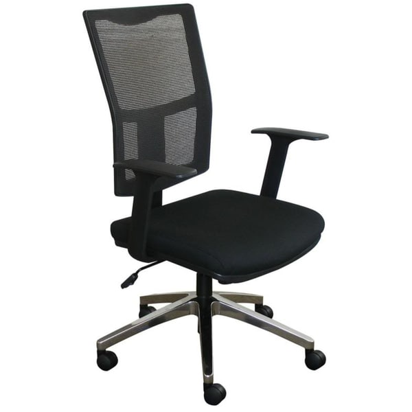 Task Mesh Chair with Aluminum Base