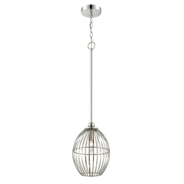 Alternating Current Cagey 1-light Chrome Mini Pendant
