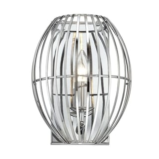 Alternating Current Cagey 1-light Chrome Wall Sconce