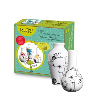 Ketto Paint-it-yourself Vases Cat Theme