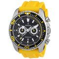 Festina Men's Single Alarm Yellow/ Black Watch