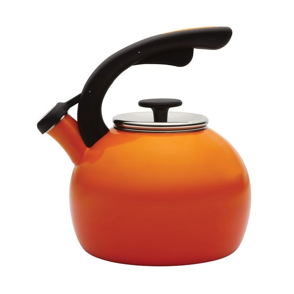 Rachael Ray 'Crescent' Orange 2-quart Tea Kettle