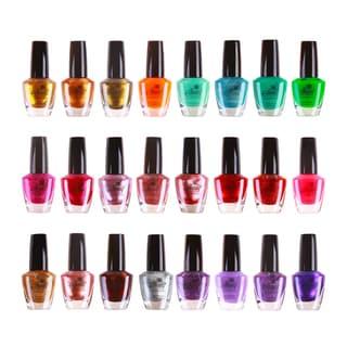 Shany Cosmopolitan Nail Polish Set No. 2 (24 Colors)