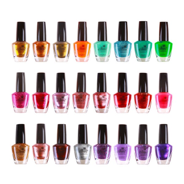 Shany Cosmopolitan Nail Polish Set No. 2 (24 Colors)