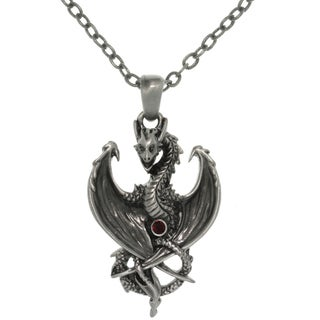 CGC Pewter Alloy Dragon Necklace