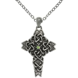 CGC Pewter Alloy Celtic Cross Necklace