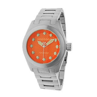 Android Men's 'Antiforce 45' Orange Stainless Steel Watch