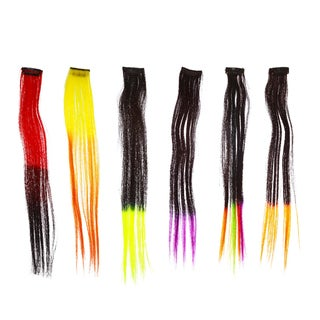 Shany Cosmetics Neon Straight Hair Extensions Set 1