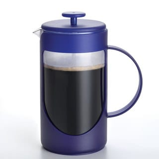 Bonjour Blue 3-cup French Press