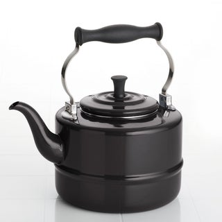BonJour Black Porcelain 2-quart Tea Kettle