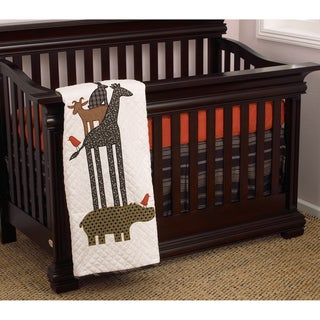 Cotton Tale Animal Stackers 3-piece Bedding Set