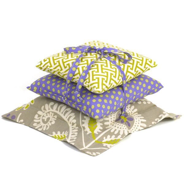 Cotton Tale Periwinkle 3-piece Pillow Pack