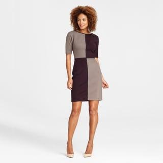 Maggy Boutique Women's Four-panel Colorblocked Dress