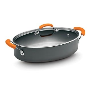 Rachael Ray Hard Anodized 5-quart Saute Pan with Lid