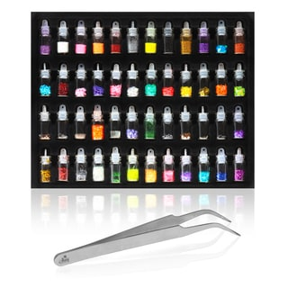 Shany 3D Nail Art Decoration (48 Mini Bottles)