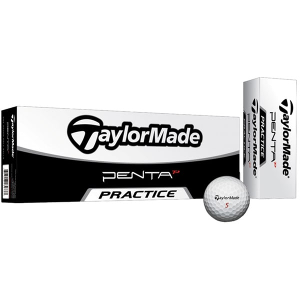 TaylorMade Penta TP5 Pratice Golf Balls (Pack of 72)