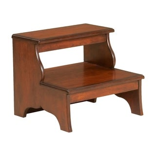 Cherrywood Finished Step Stool