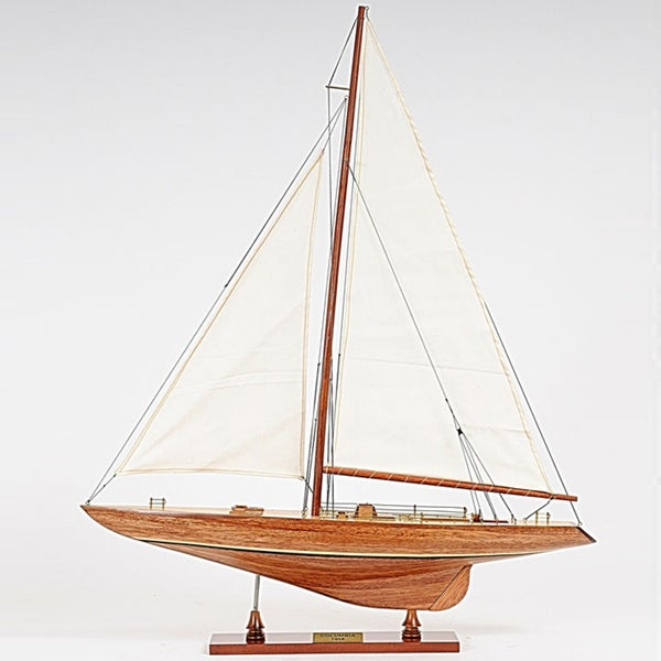 Old Modern Handicrafts Columbia Small Model Ship 10788318
