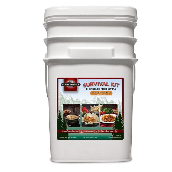 72-hour Food Bucket