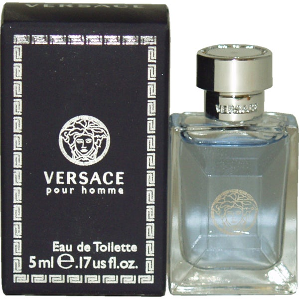 Versace Pour Homme Men's 0.17-ounce Eau de Toilette Splash (Mini)