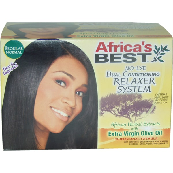 Africa's Best No-Lye Dual Conditioning Relaxer System (1 Application)