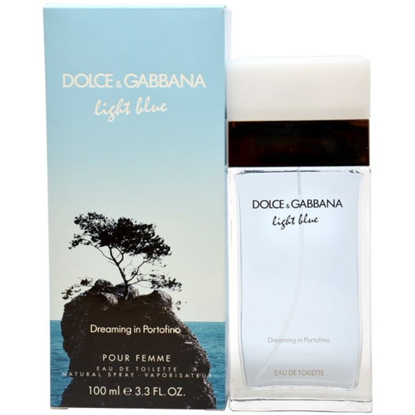 dolce gabbana light blue dreaming in portofino women 39 s 3. Black Bedroom Furniture Sets. Home Design Ideas