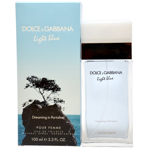 Dolce & Gabbana Light Blue Dreaming in Portofino Women's 3.3-ounce Eau de Toilette Spray