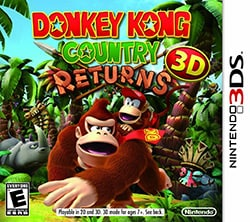 Nintendo 3DS - Donkey Kong Country Returns 3D