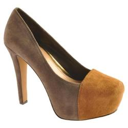 Women's Jessica Simpson Elisey Charcoal Suede/Leather