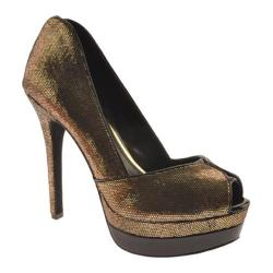 Women's Jessica Simpson Evette Tarnish Gold Synthetic