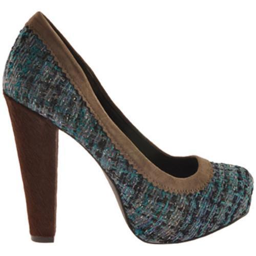 Women's Jessica Simpson Topazio Montana Blue Tweed Fabric