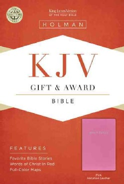 The Holy Bible: King James Version, Gift & Award, Pink, Imitation Leather (Paperback)